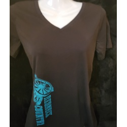 **Clearance** Redneck Country Women's V-neck Black Tee